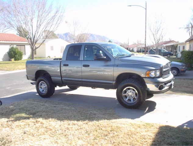 H2 Wheel And Tires Installed On 3rd Generation Ram 2500